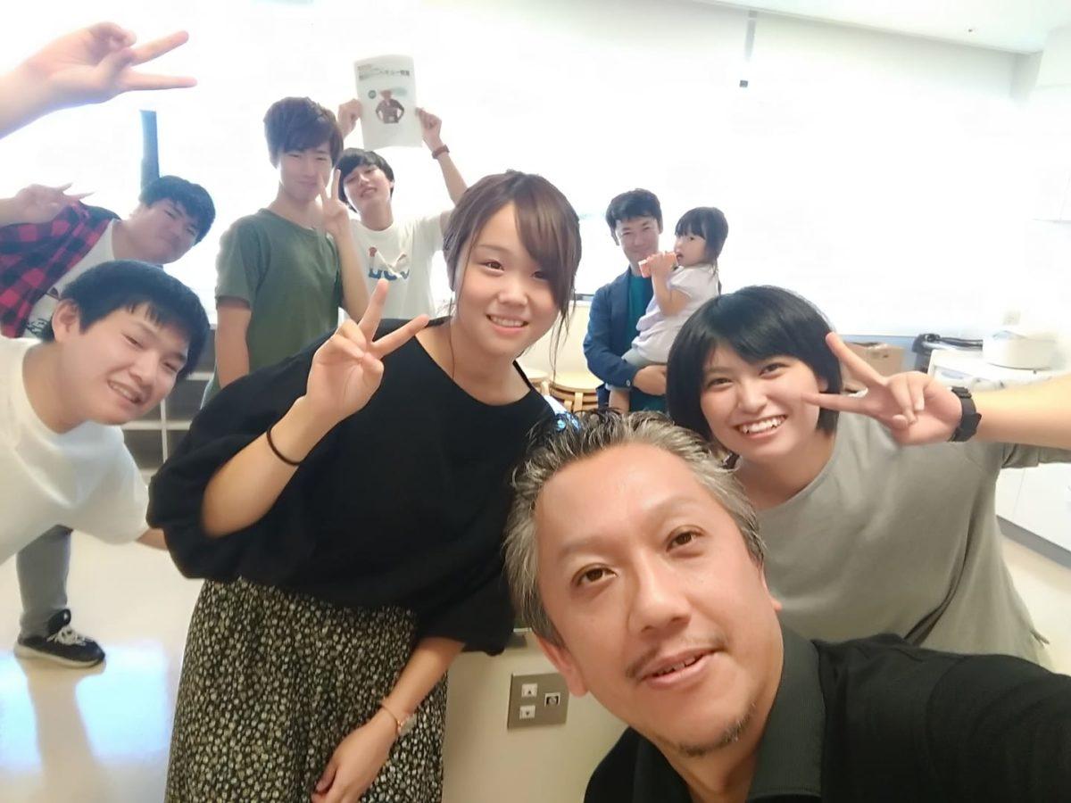 福知山大学生と防災バーベキュー教室