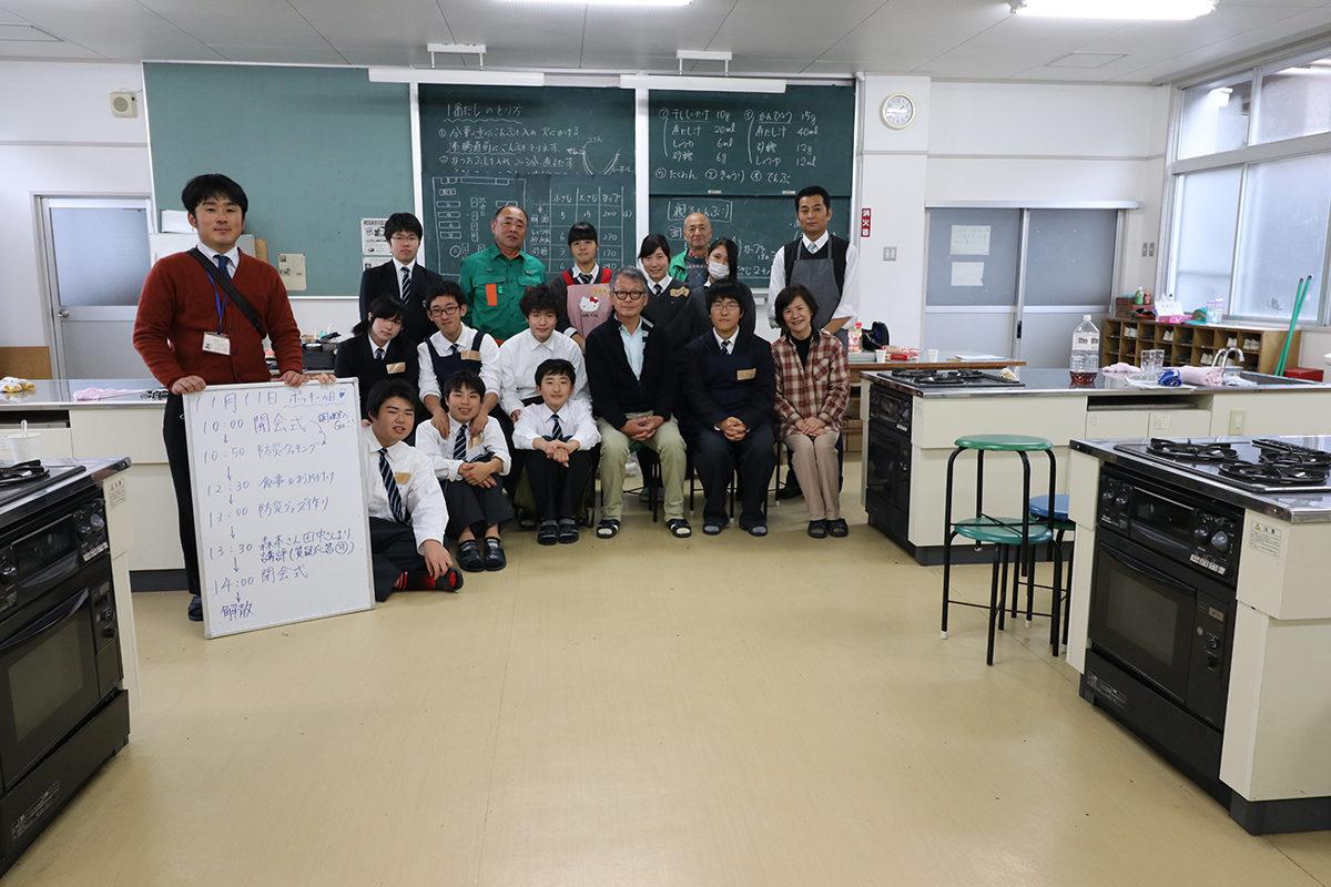 大江高校ボランテイア部の皆様と打ち合わせ