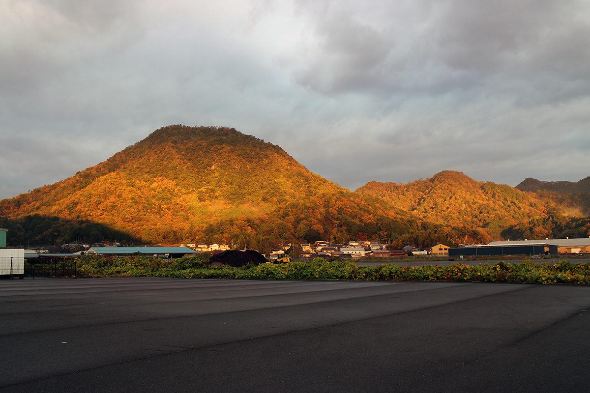 丹後富士(建部山) 舞鶴の風景