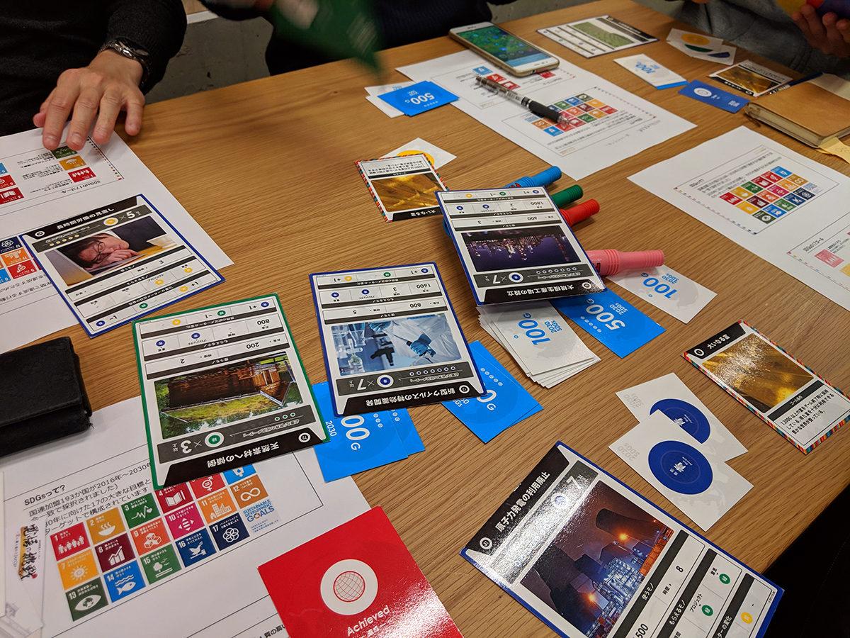 SDGsゲーム体験講座に参加