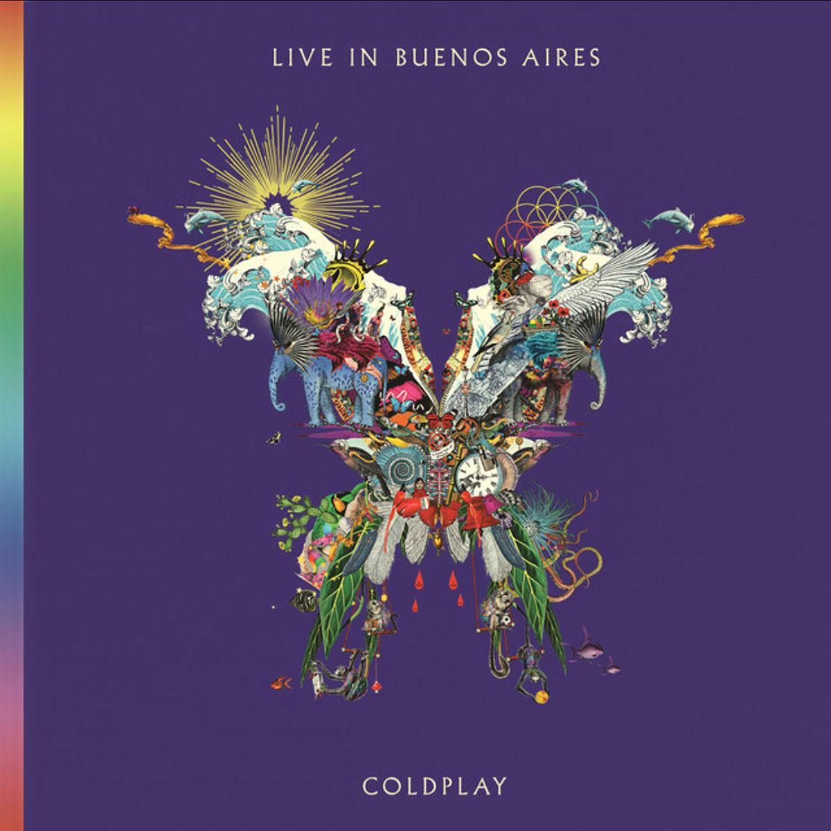 コールドプレイのライブアルバム ライヴ・イン・ブエノスアイレス
