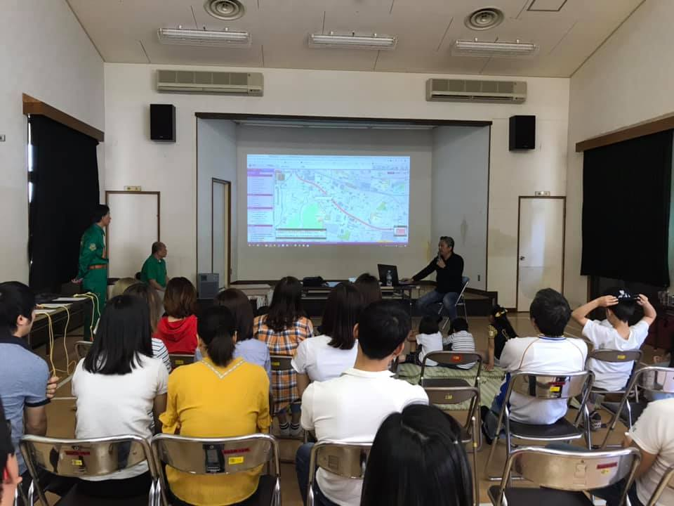 外国人向け防災講習を開催しました