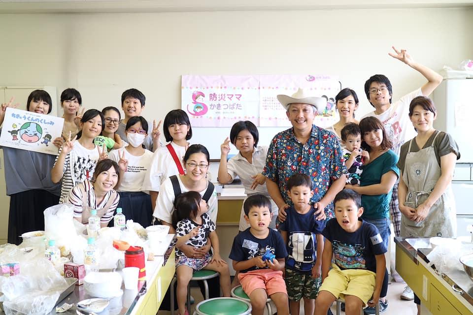 愛知県知立市で防災BBQ