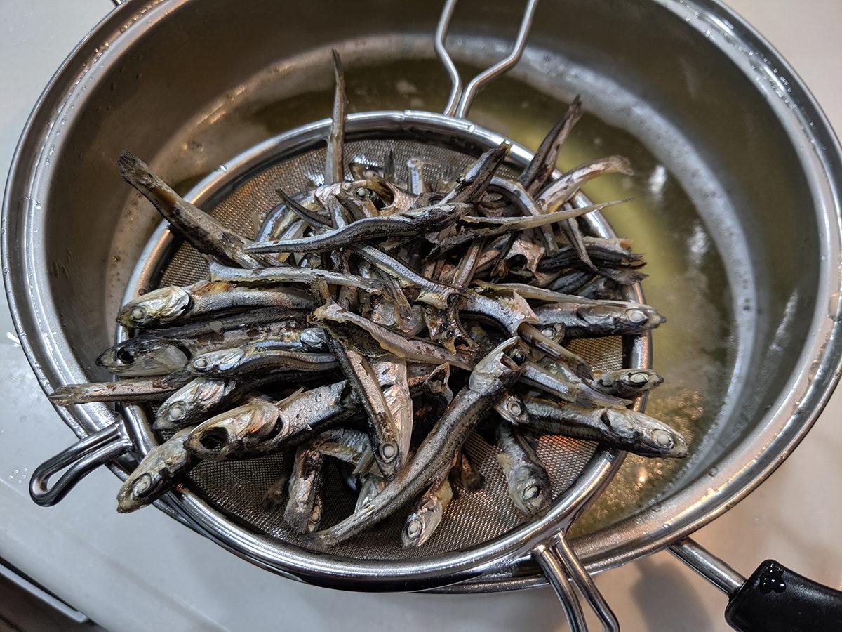 煮干しラーメンともつ鍋