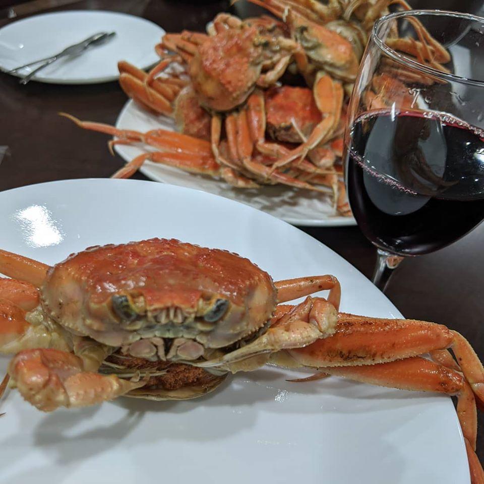 赤ワインとこっぺかには最高のマリアージュ