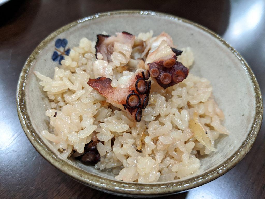 舞鶴産たこ飯