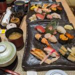 次男の進学祝いにまわらないお寿司