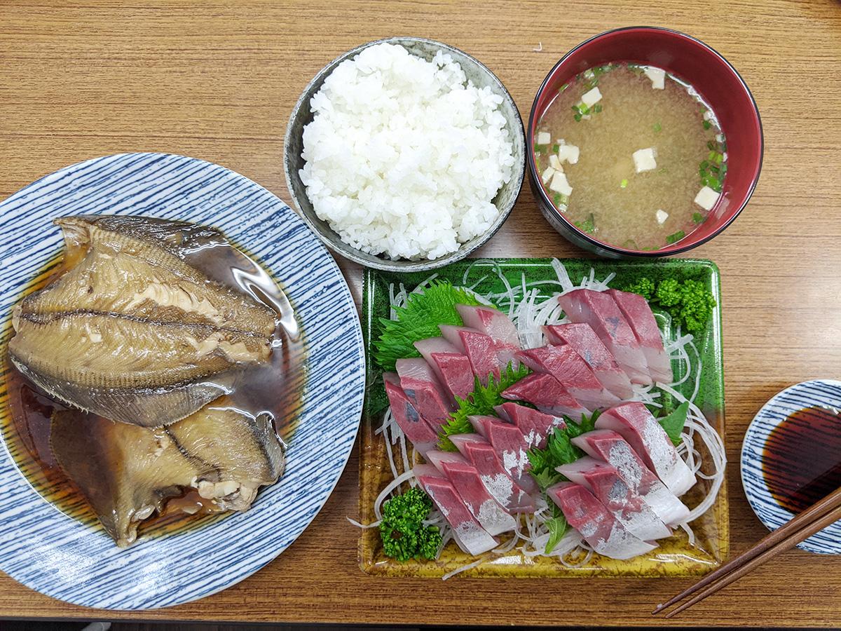 手作り魚定食