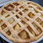 手作りポテトアップルパイ