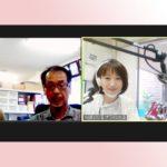田中啓介さんのラジオに出演